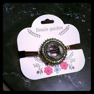 Nwt handmade beaded bracelet